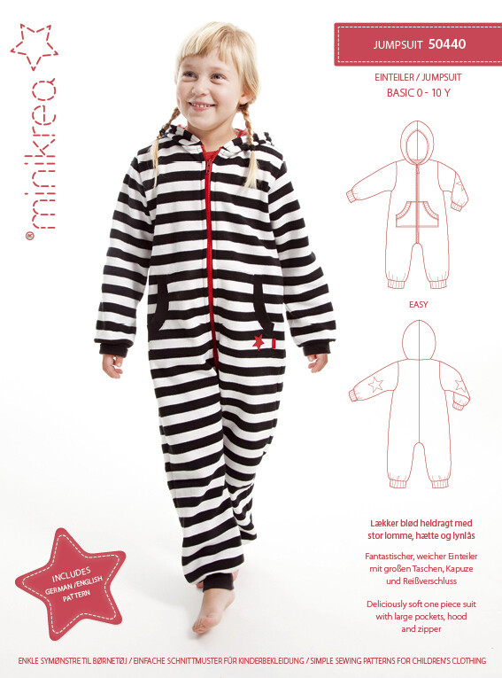 Sewing pattern for Jumpsuit