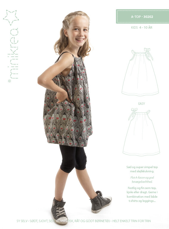 Sewing pattern for A-Top
