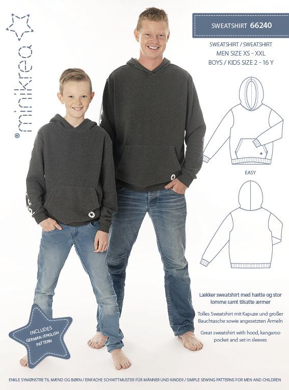 Sewing pattern for Sweatshirt