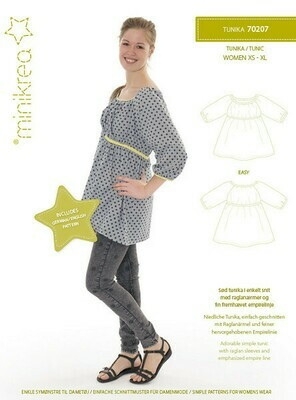 Sewing pattern for Tunic