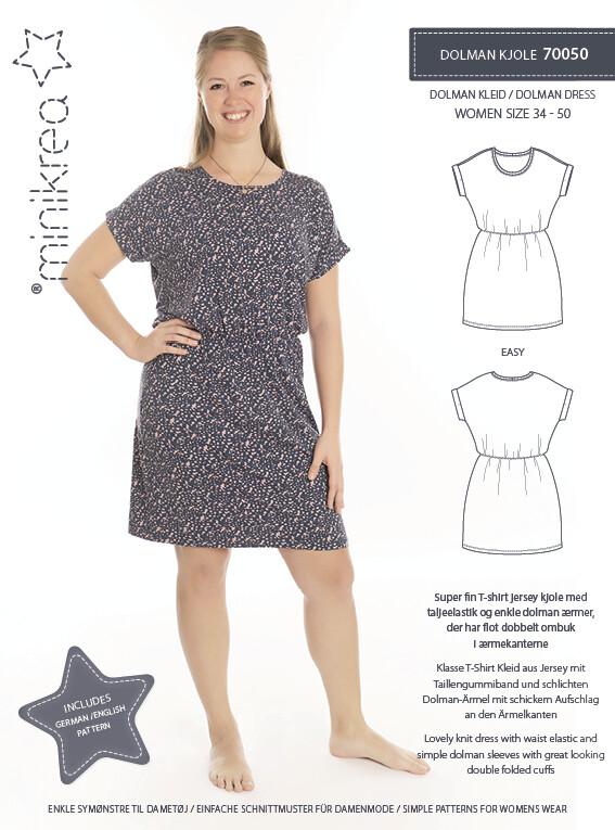 Sewing pattern for Dolman dress
