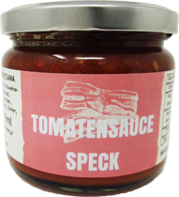 Tomatensauce Speck a 280g (100g/1,60€)