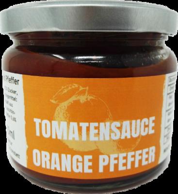 Tomatensauce Orange und Pfeffer a 280g (100g/1,43€)