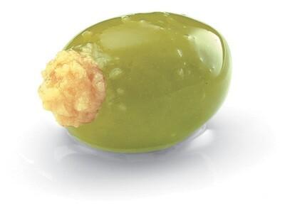 Oliven gefüllt mit Orangencreme Antipasti 280g (100g/1,78€) Abtropfgewicht 180g