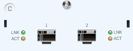 Sophos 2 port 10GbE SFP+ FleXi Port module (for XG 750 and SG/XG 550/650 rev.2 only)