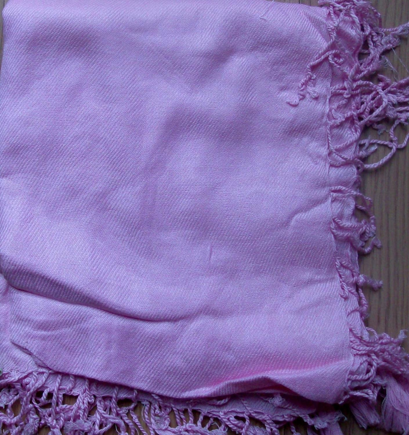 Quilted tichel pink