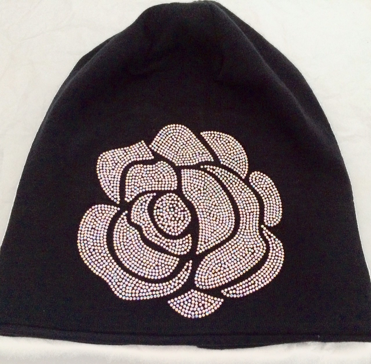 Black Rose Beanie