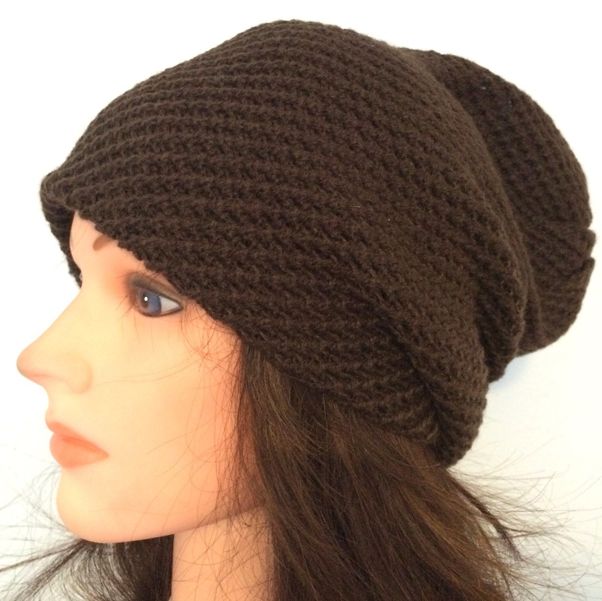 Brown slouchy hat/beret