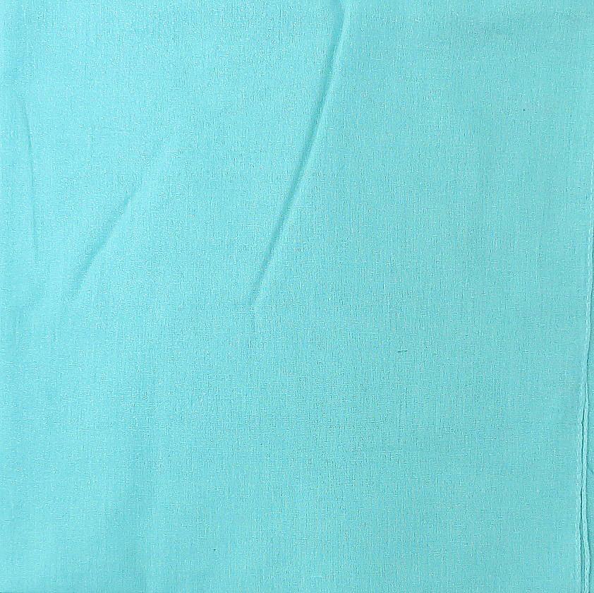 Mint green solid color sheen tichel
