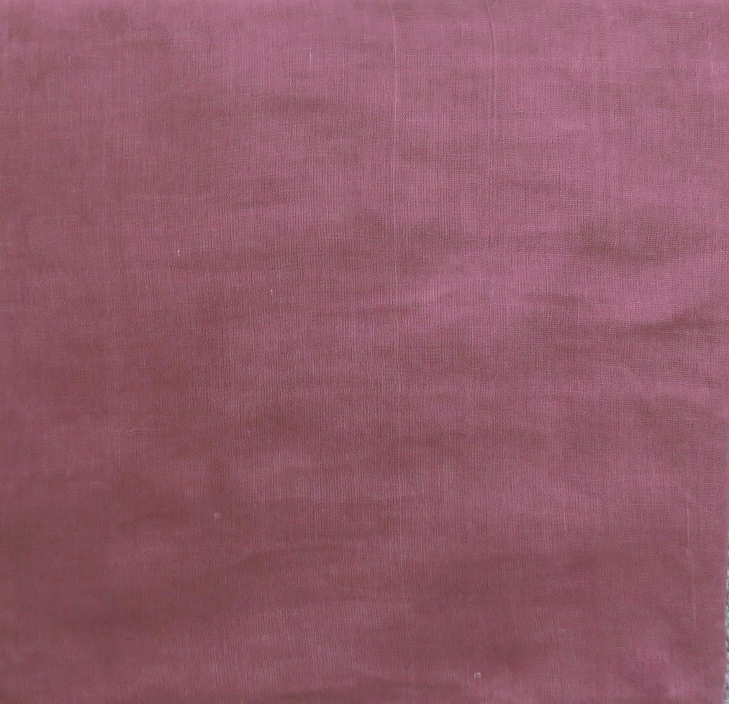 Dull raspberry solid color cotton tichel headscarve
