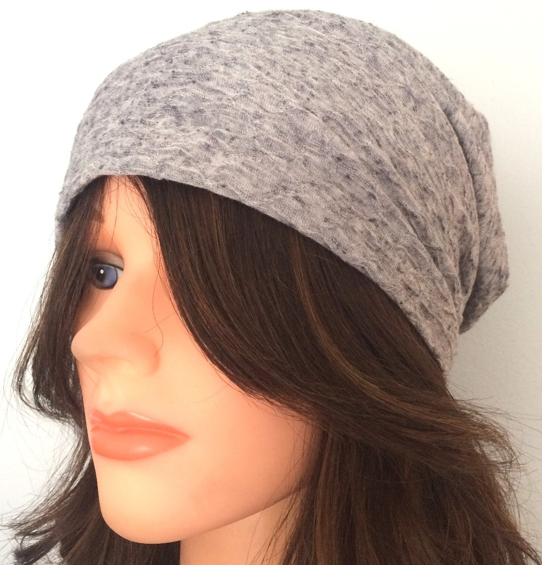 Light gray summer slouch textured pattern.