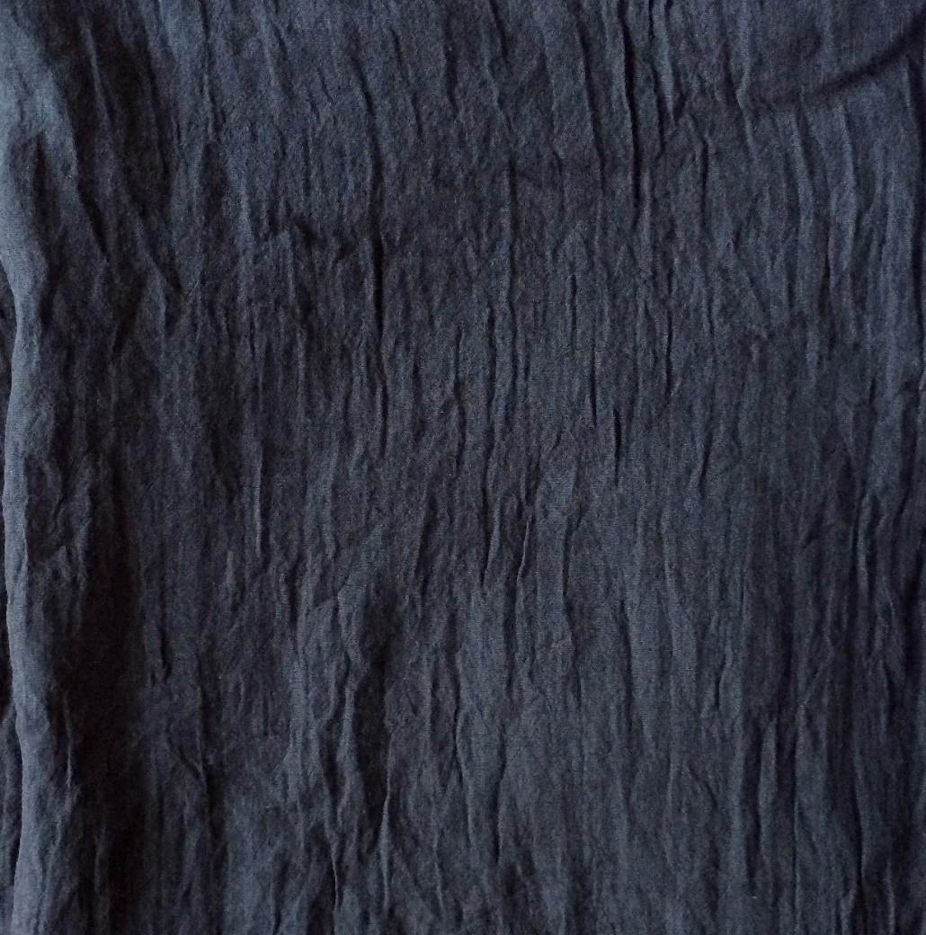 Black solid color tichel