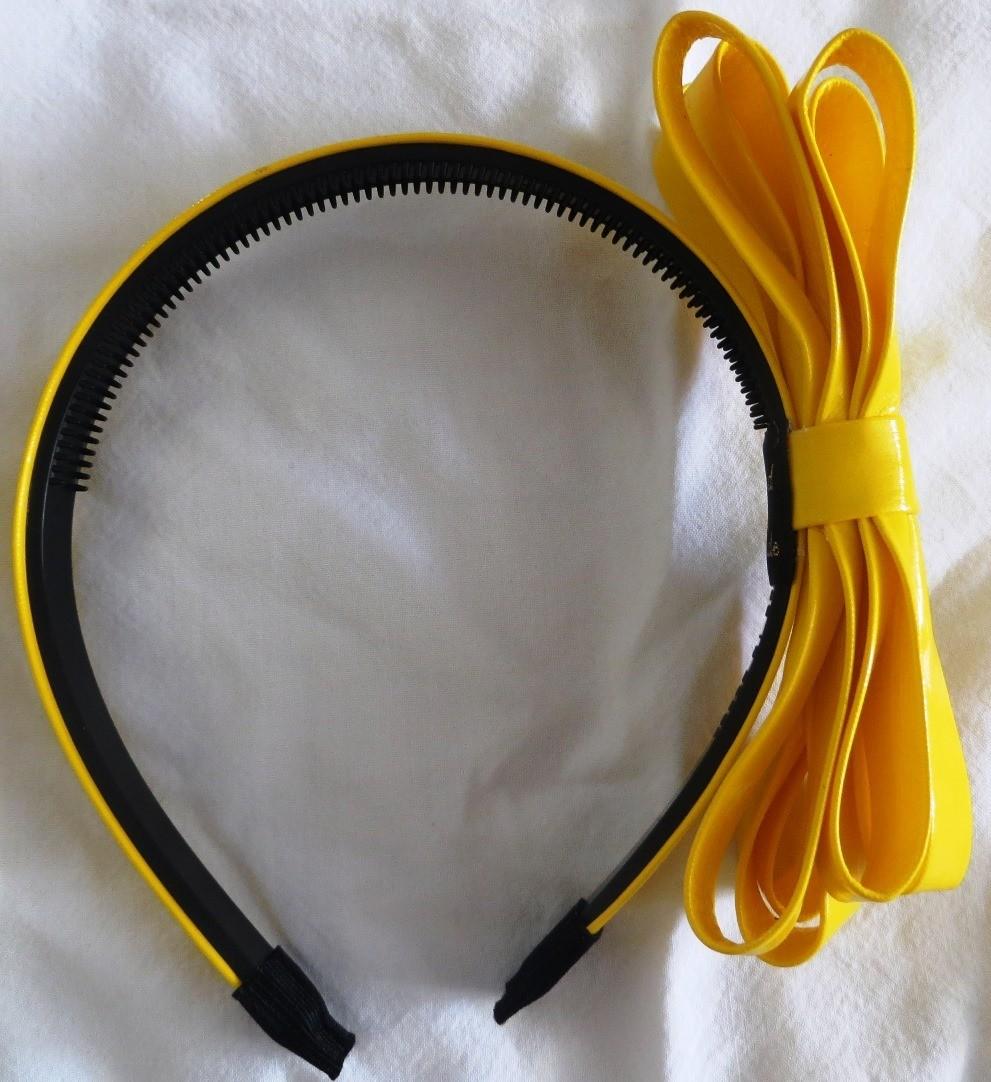 Yellow Spring bright headband