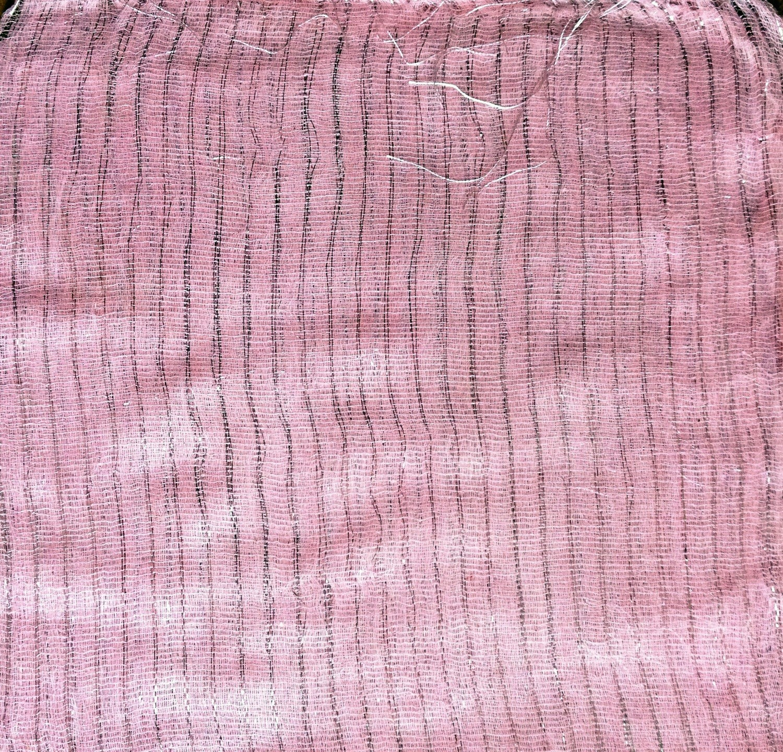Light pink spring colors lurex tichels