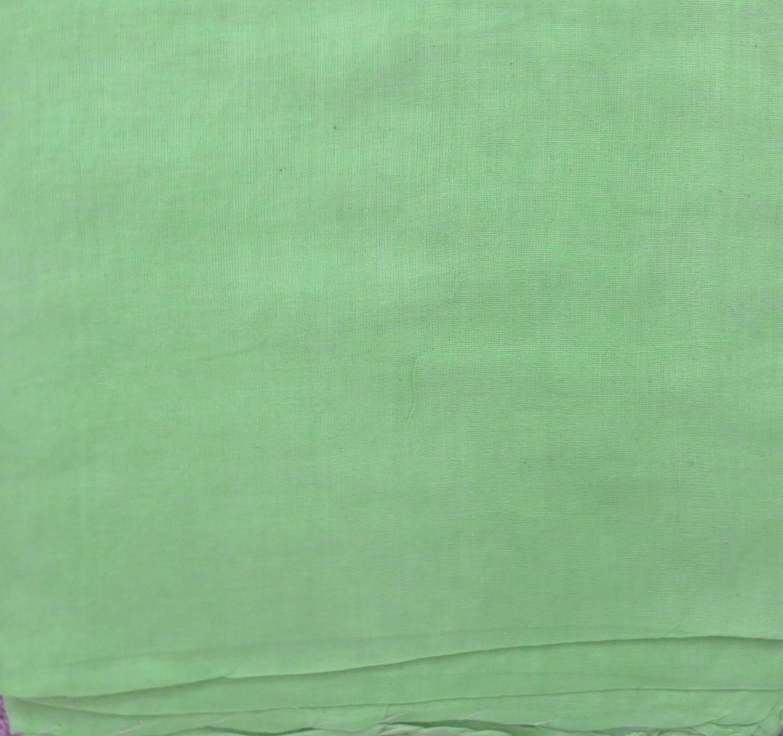 Pistachio green solid color cotton tichel headscarve