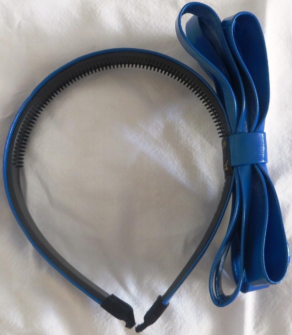 Blue Spring bright headband