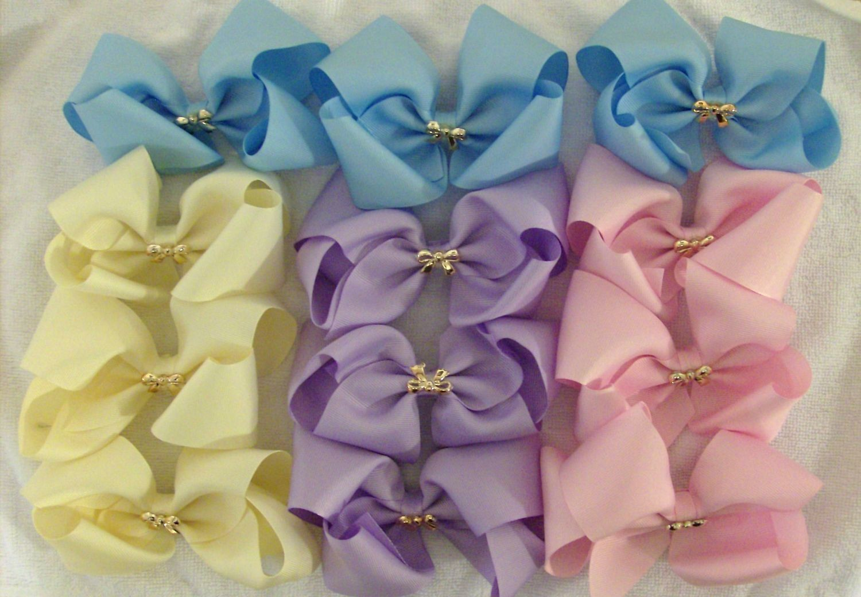 Jeweled bows