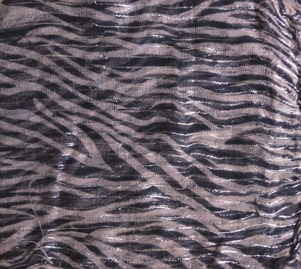 Pale Taupe basic animal print tichel