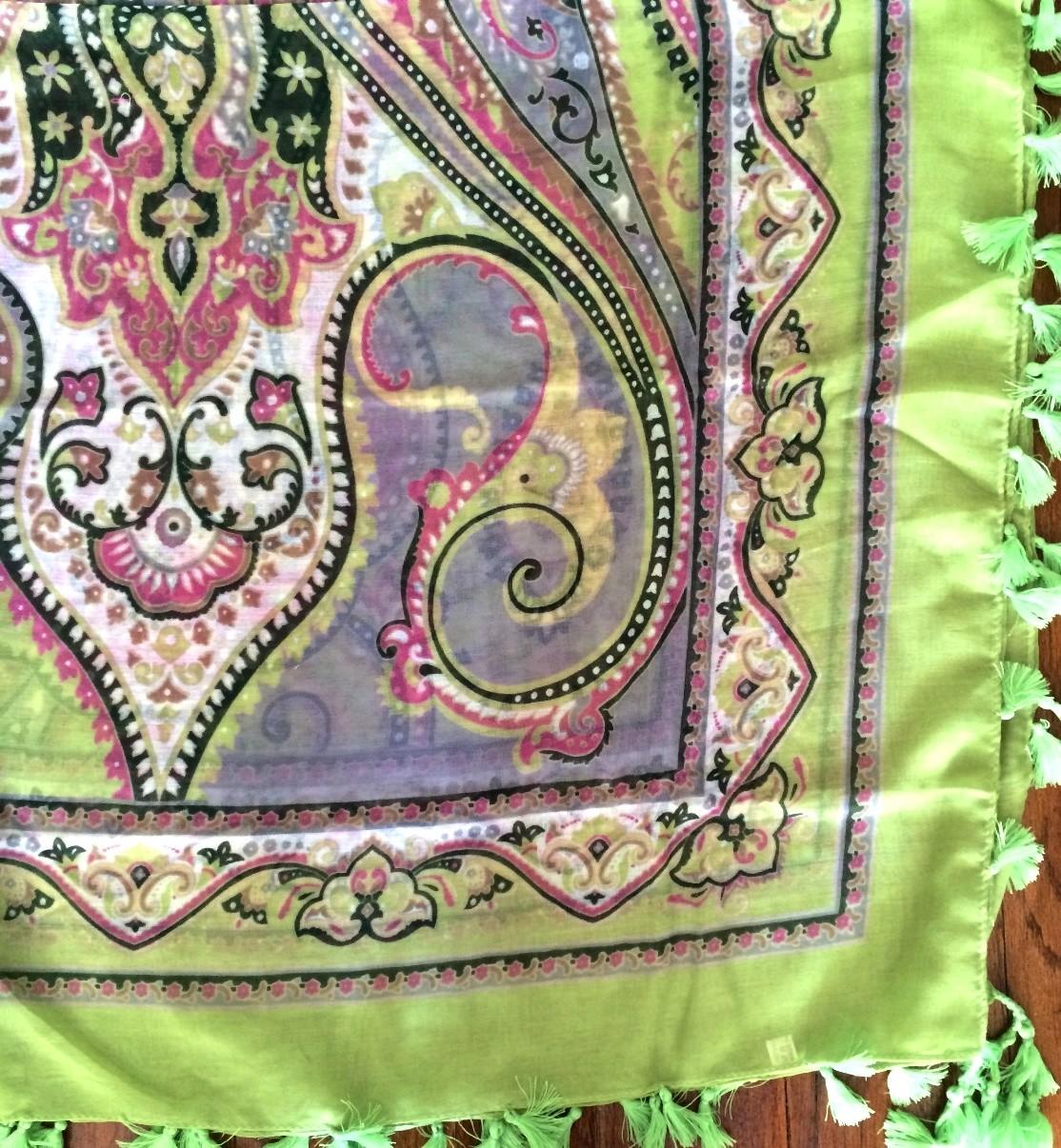 Light green summery soft tichel