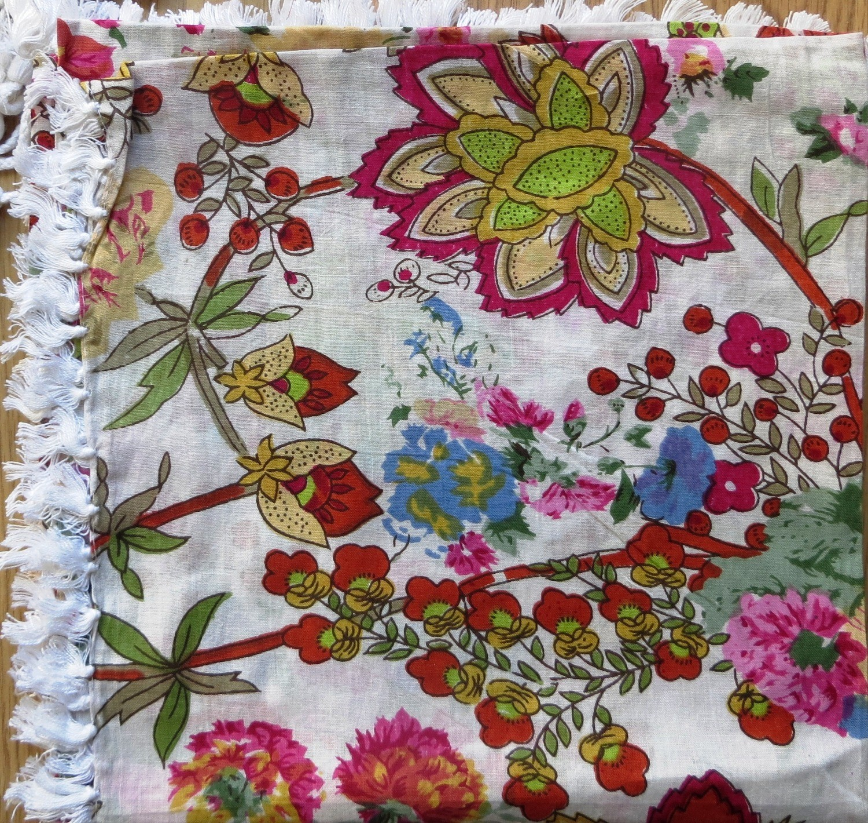 May flowers tichel