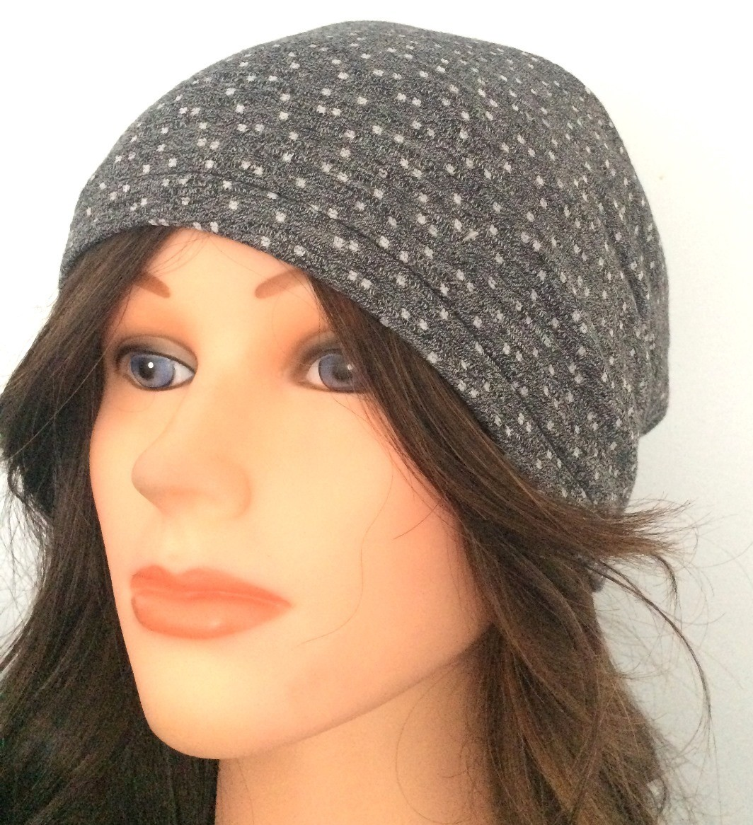 Gray dotted pattern summer slouchy