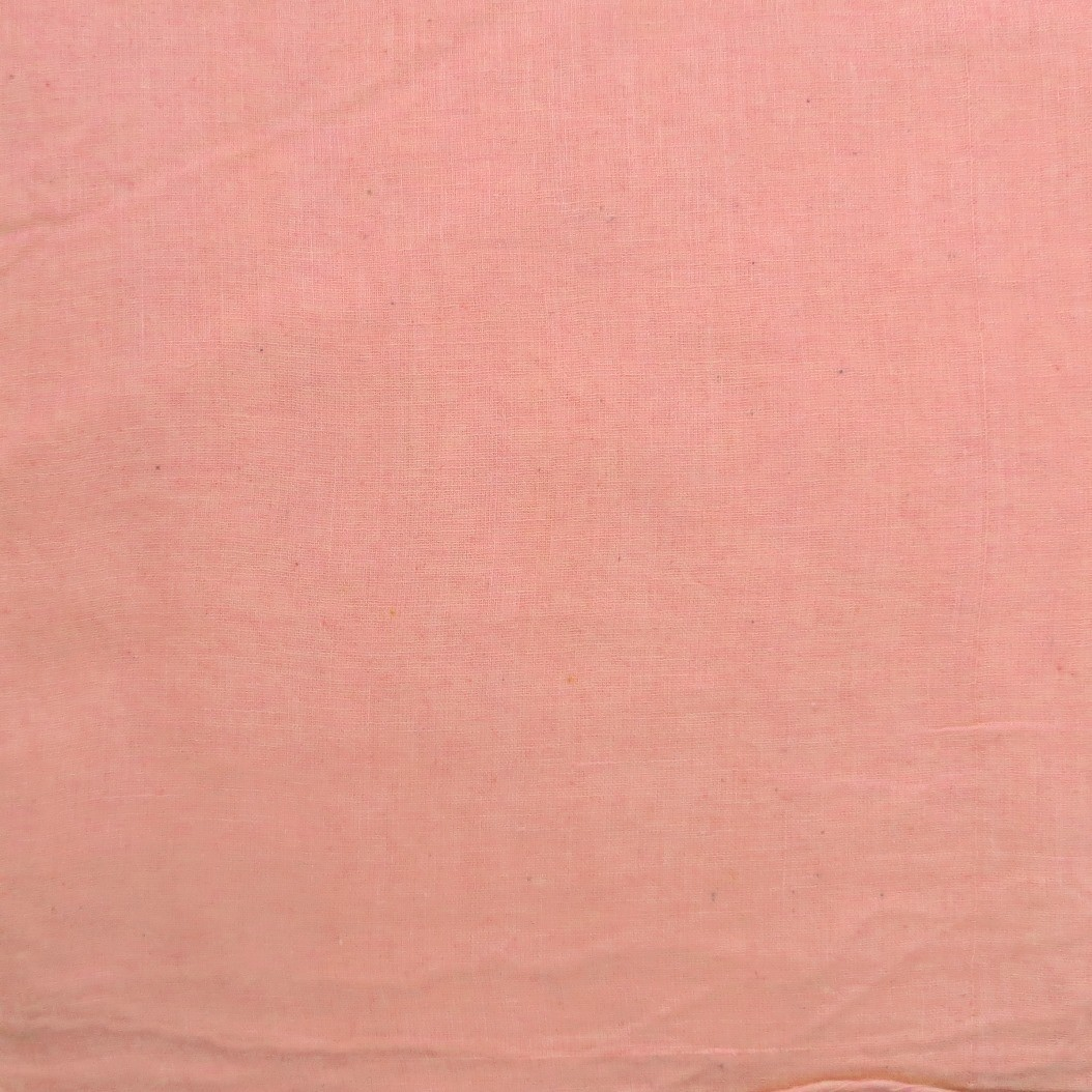 Peachy solid color cotton tichel headscarve