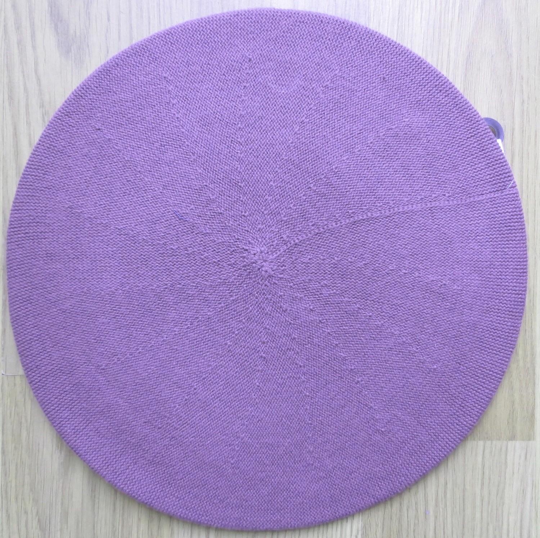 Cotton Beret light purple