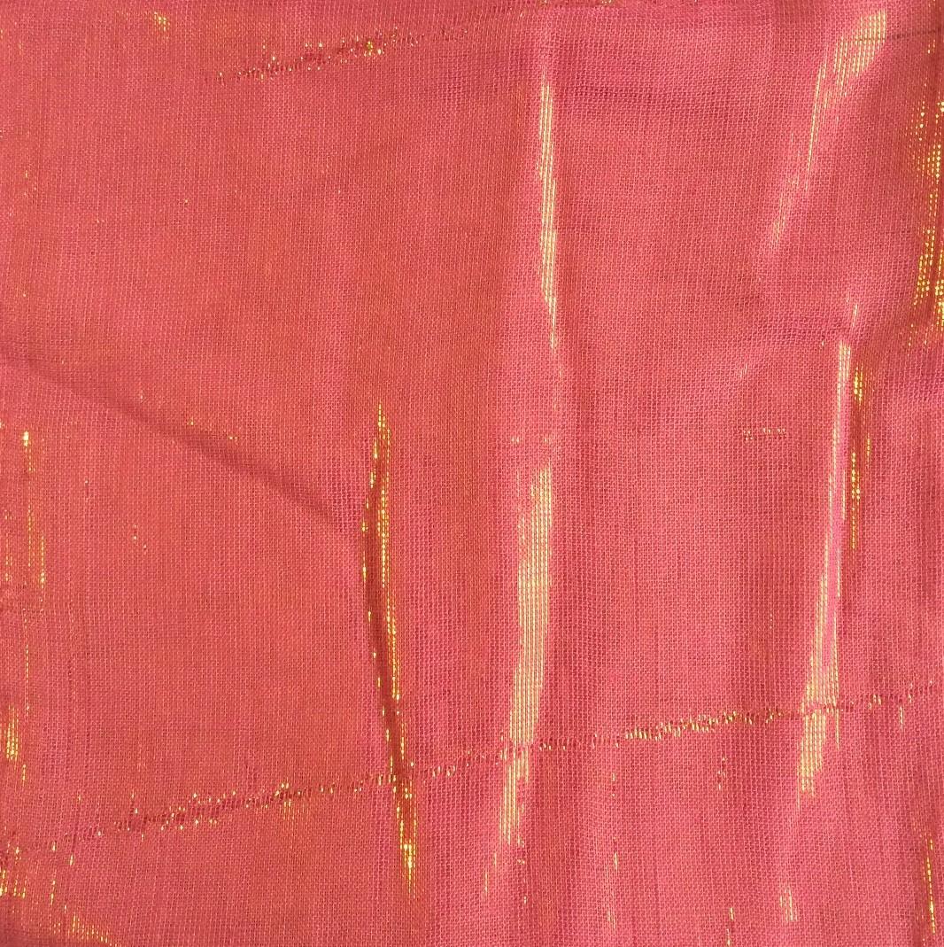 Hot pink solid shimmer tichel