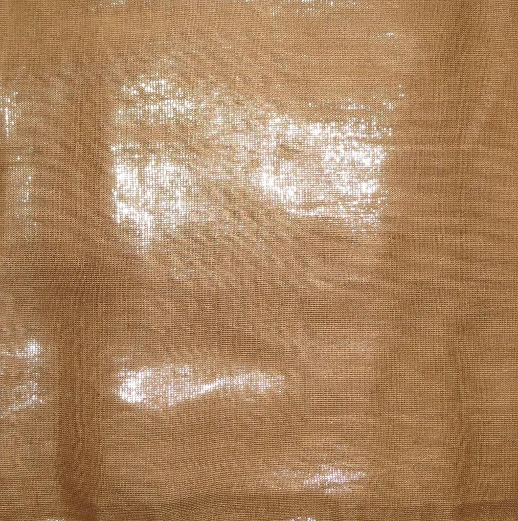 Camal color solid shimmer tichel