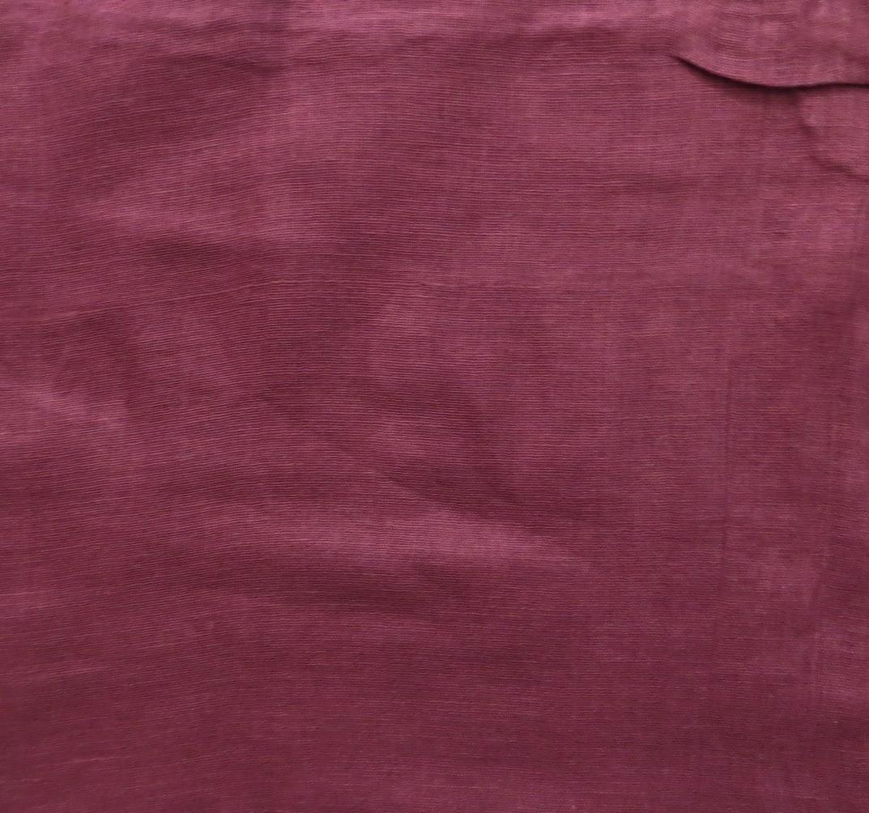 Plum solid color cotton tichel headscarve