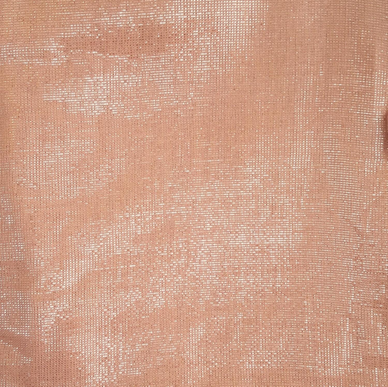 Shimmering solid tichel champagne color