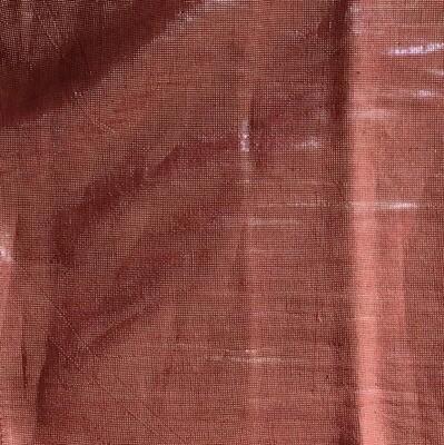 Shimmering solid tichel maroon