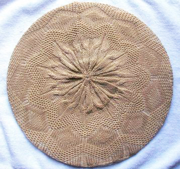 Super lightweight beret beige