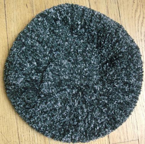 Gray chenille snood