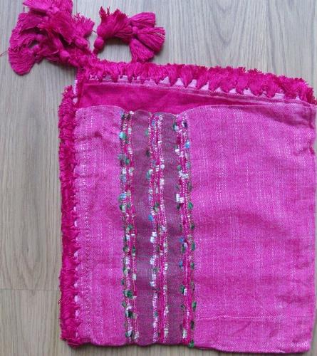 Knitted wild tichel pink