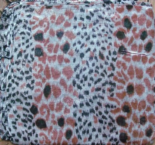 Cheetah shimmering animal print tichel