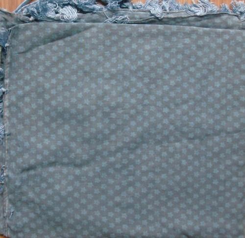 Gray soft cotton tichel