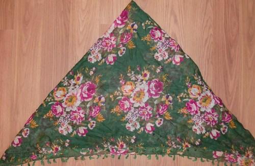 Green tichel bandana