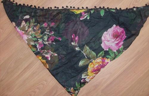 Black tichel bandana