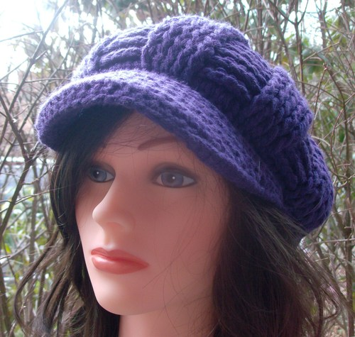 Cool cap purple style 2