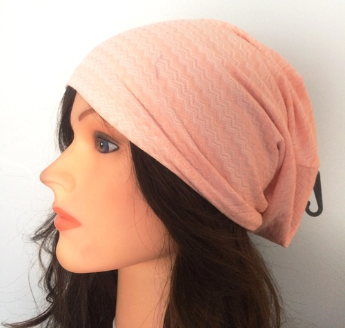 Pink zig zag pattern summer slouch
