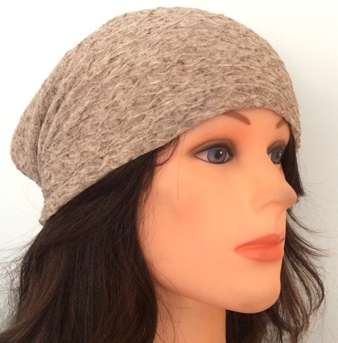Beige spring/fall slouch textured pattern.
