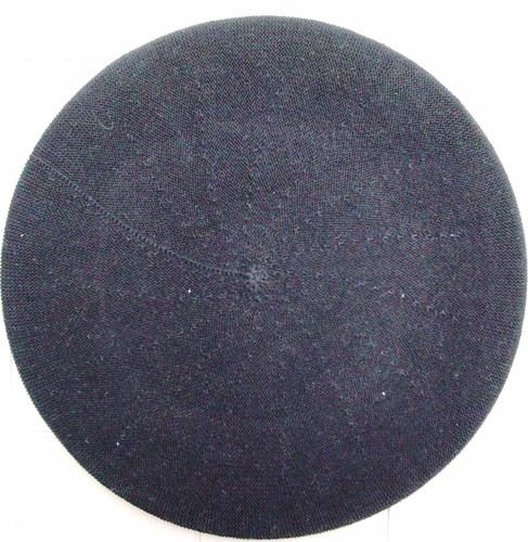 Cotton Beret black large