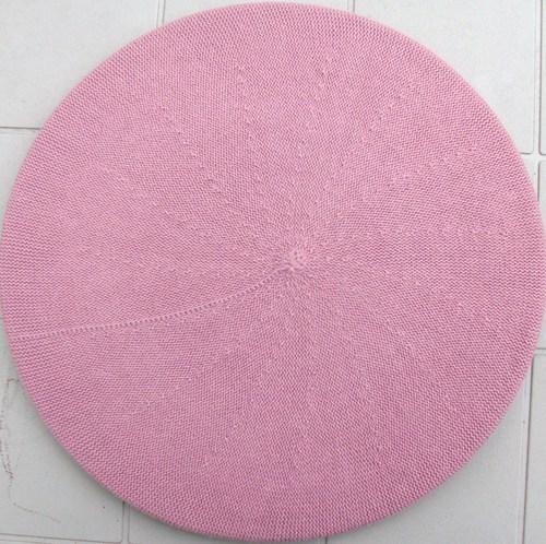 Cotton beret pink large