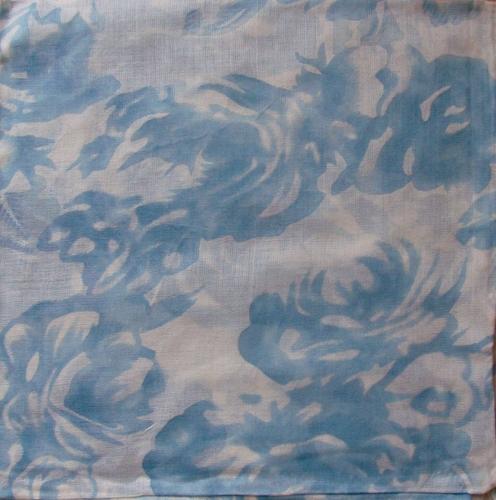 Light blue spring clouds tichel