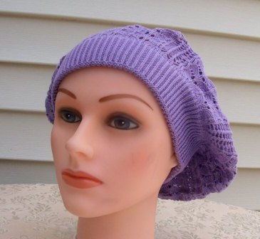 Extra light beret lavender