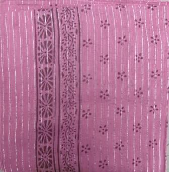 Dotted pattern tichel pink
