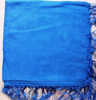 Navy blue solid color tichels