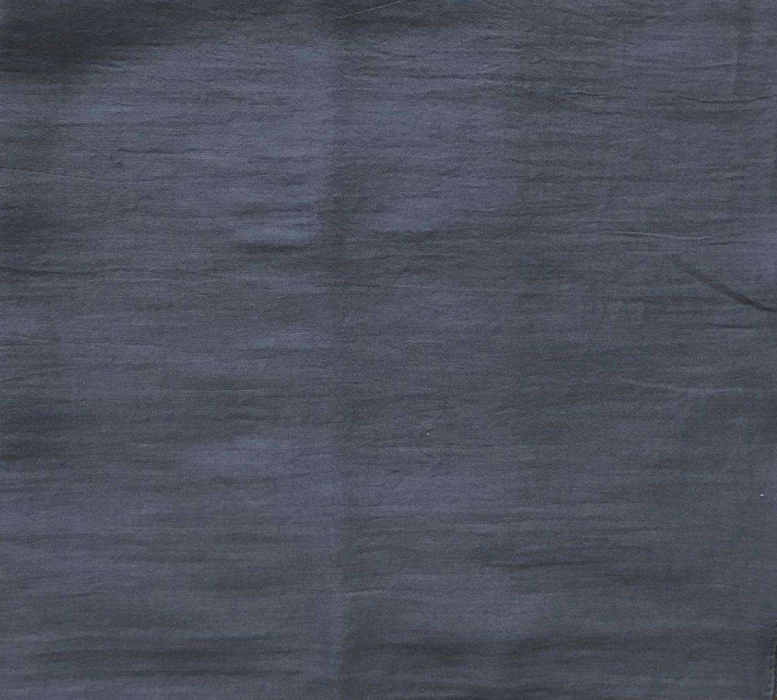 Gray solid color cotton tichel headscarve