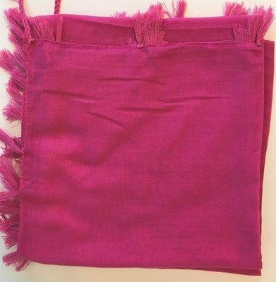 pink solid Turkish Tichel